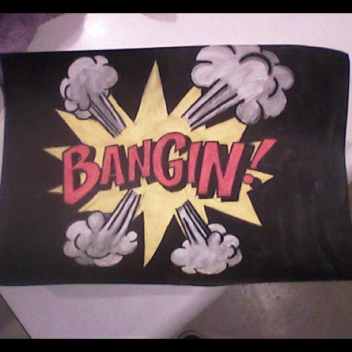 #painted this for the #mostamazingbf ever Nate Wilson <3 :)