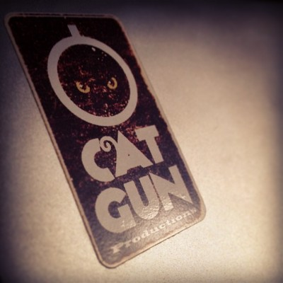 kitkitbangbang:  TOMORROW My Catgun sticker is starting to look pretty fucked. That laptop's had a few interesting adventures over the last 18 months or so and the sticker has been a constant reminder that my time management skills leave a lot to be desired. We'll do some Catgun stuff tomorrow, I said. Again. And again. And again. But it's not like we've been idle. The Night Bride comic is finished. As with PRECISION we now have a character we're rather fond of and want to do more with, but right now we're just looking for a home for her. Thanks to Steve she's already kicked ass out in the real world. The Night Bride opera was performed in Vienna complete with my libretto. I know. Crazy. But Dave's art is beautiful and we should have the full thing in your hands very soon. We're just starting to put together a road map for all this stuff, but it looks like it'll keep us busy for a little while. Thanks for stopping by and prodding us into a little more action. I believe we'll have a full demo of the opera up on Soundcloud soon and a lot more of Anna to come once you have the comic in your grubby little collective paws. I guess we should also get some new stickers.