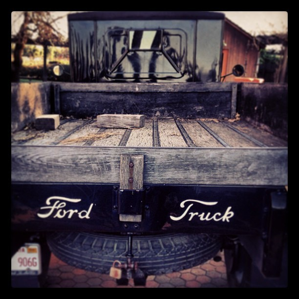 Ford Truck (at Turnbull Wine Cellars)