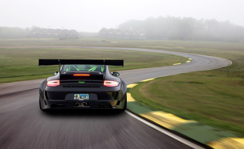 "automotivated:  (via 500px / Photo ""Champion Motorsports Porsche 911 GT3 RSR"" by Clint Davis)"