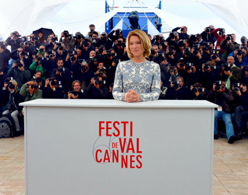 Léa Seydoux at the Grand Central photocall at the 66th Annual Cannes Film Festival (May 18th, 2013)