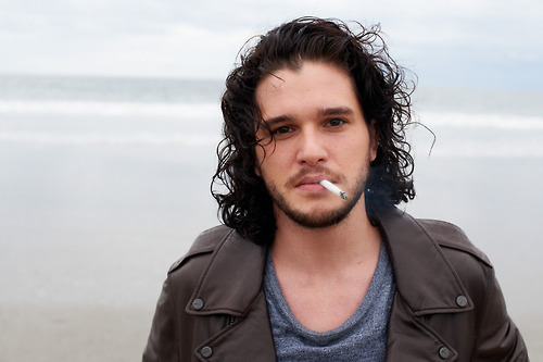 suicideblonde:  Kit Harington photographed by Terry Richardson  Jon Snow is a fine ass man. That is all.