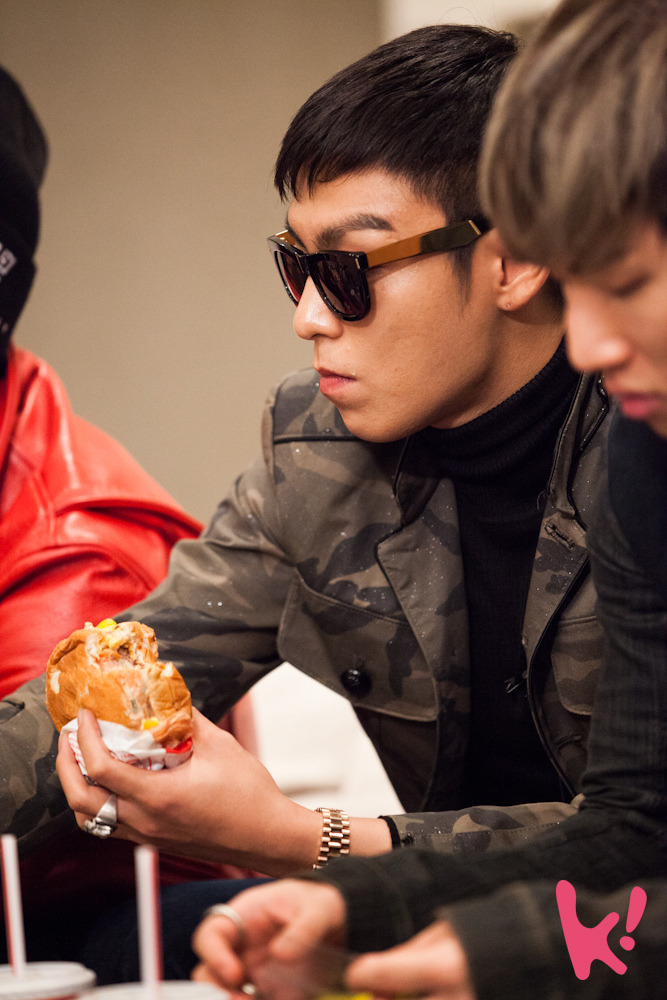 debbieperez:  I want to have lunch with T.O.P! >_<