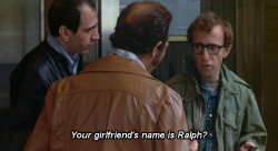 woodyeveryday:  — From Annie Hall