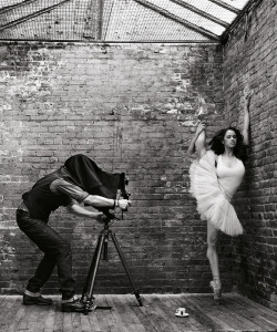 Misty Copeland being a boss. Photo by Mark Seliger via Misty's Twitter.