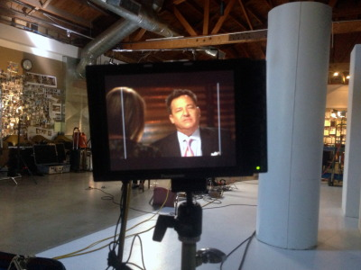 PHOENIX, Arizona — Josh Mankiewicz is hard at work on an upcoming report.  Thanks to Dateline's Michelle Fanucci for snapping this shot of Josh as he conducted an interview just last week.