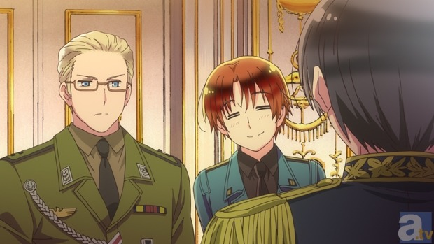 Look at Italy in this picture. Look at him. Look at that adorable thing. That motherf*cker is so motherf*cking cute, you can't even comprehend how motherf*cking cute that motherf*cker is is.