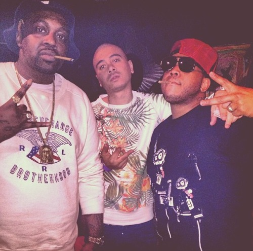Smoke Dza x AL-DOE x Styles P the Ghost
