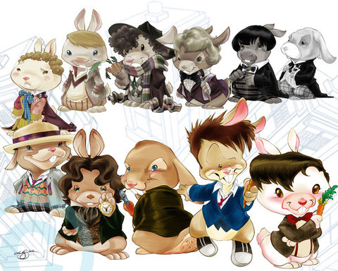 theycallmebritannica:  Doctor Who Bunnies!