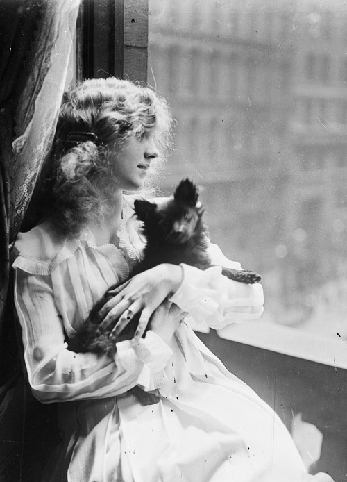 steamboatbilljr:  Mary Miles Minter, 1917