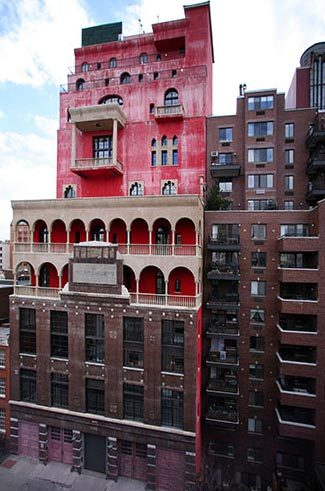 An Architectural Valentine An Italianate Palazzo in NYC owned by artist Julian Schnabel.