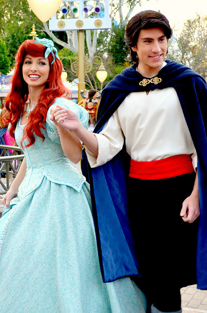 mydisneyadventures:  Ariel and Eric on Flickr.