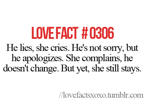 teenagerposts:   Follow LOVE FACTS  http://lovefactsxoxo.tumblr.com/
