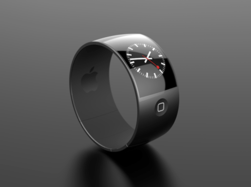 iheartapple2:  Another iWatch Design Concept  Not bad.