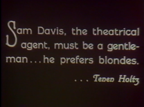 silentintertitles:  From Upstage (1926)  Never doubted this.