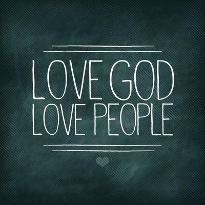 moonbludger:  Matt 22:37-39 Love God Love People Stretched Canvas by Pocket Fuel | Society6 on We Heart It - http://weheartit.com/entry/60579594/via/danielleeamanda Hearted from: http://society6.com/PocketFuel/Matt-2237-39-Love-God-Love-People_Stretched-Canvas