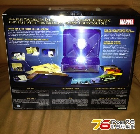scifigrl47:   Marvel Cinematic Universe: 10-Disc Phase One Collection, finally released out on April 2 (x).  ((Liiiiiiiiiiiiiiiiiiiick)) My original pre-order from Amazon still stands.  I am so excited for this waste of my disposable income, I cannot even tell you.  Mine will be here Tuesday I think or Wednesday