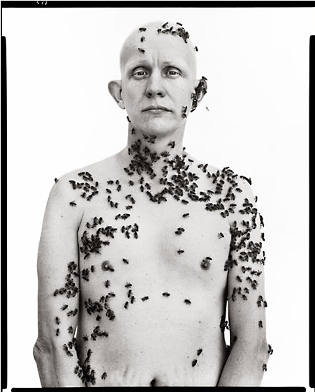 Richard Avedon, Beekeeper, Davis, California, May 9, 1981 Today we are celebrating the birth of photographer Richard Avedon!  Correction: Richard Avedon's birthday is actually May 15, but hey, we're early!