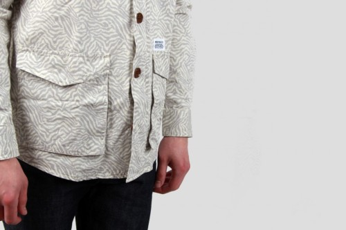 willhuntgoods:  Norse Projects-Villads M65 Tigargyle-Old White