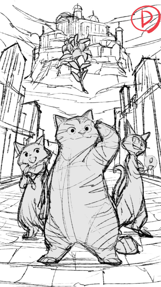 Here's another concept worked up by Gurihiru for Catlantis presentation art