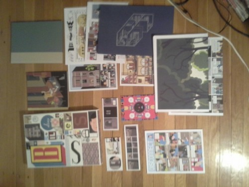 I got Chris Ware's Building Stories
