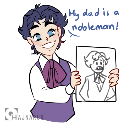 hajnarus:    today we asked the little Joestar family members, what's their dads' job