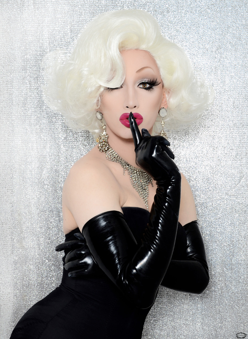 "jinkxmonsoon:  ""Marilyn Monsoon"" by: Jose A. Guzman Colon"