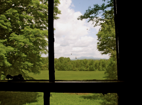 explore-blog:  A view from the room where Melville wrote Moby-Dick.