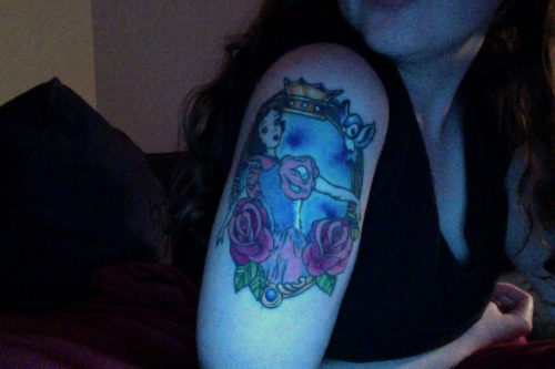 I love my Snow White tattoo.