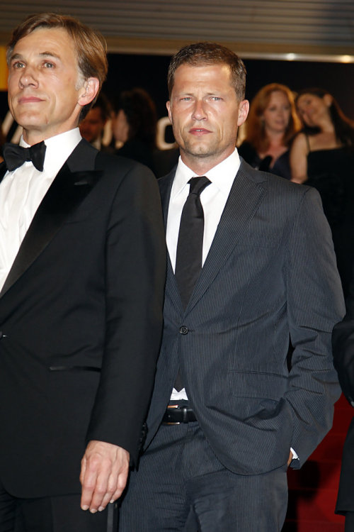 terreurpanique:  (via Til Schweiger Pictures - Celebrities Leaving 'Inglourious Basterds' Premiere At Cannes - Zimbio)