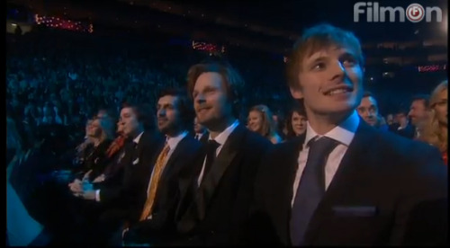 fyalexandervlahos:  Alex sitting at the end together with Eoin, Rupert and Bradley.