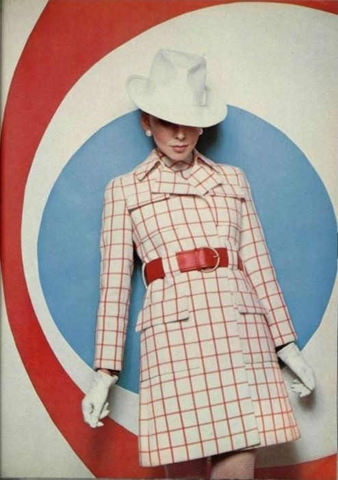 christinerod:  1968 fashion by Ted Lapidus, from L'Officiel de la Mode.