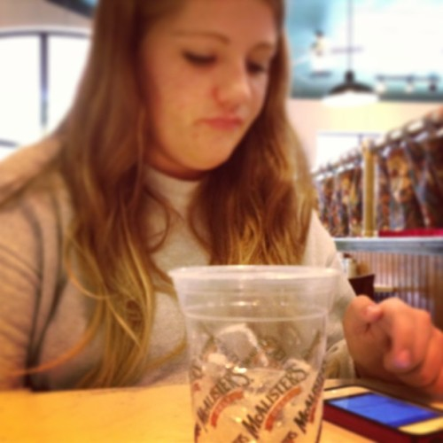 Having lunch with @taylorcopeland1  (at McAlister's Deli)