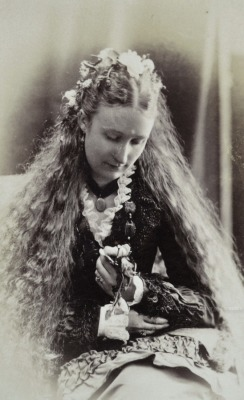 Scottish beauty. Circa 1877
