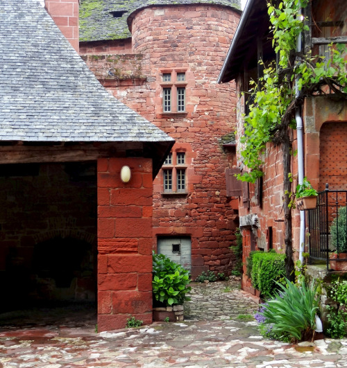 allthingseurope:  Collonges-la-Rouge, France (by Michele*mp)