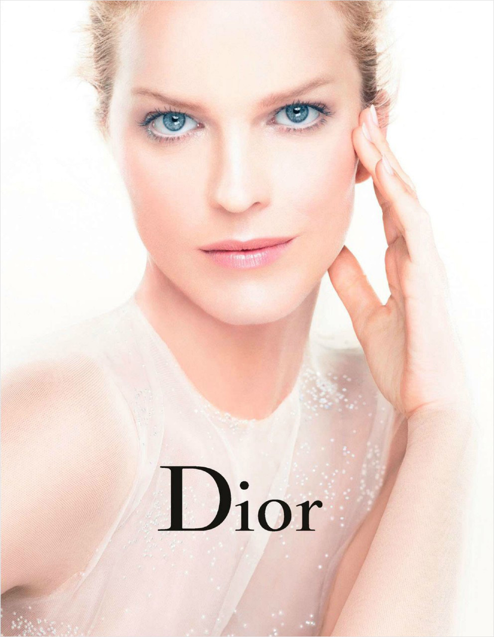 Eva Herzigová by Steven Meisel for Dior Beaty Spring/Summer 2013.