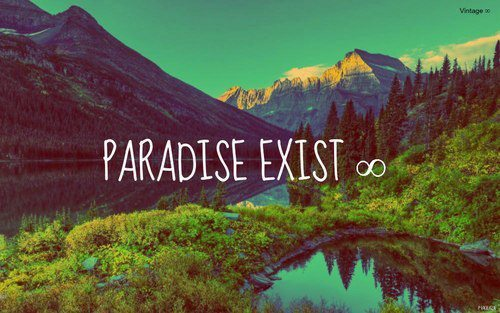 hipsterbabe21:  You & I on @weheartit.com - http://whrt.it/11AEIKo  Paradise