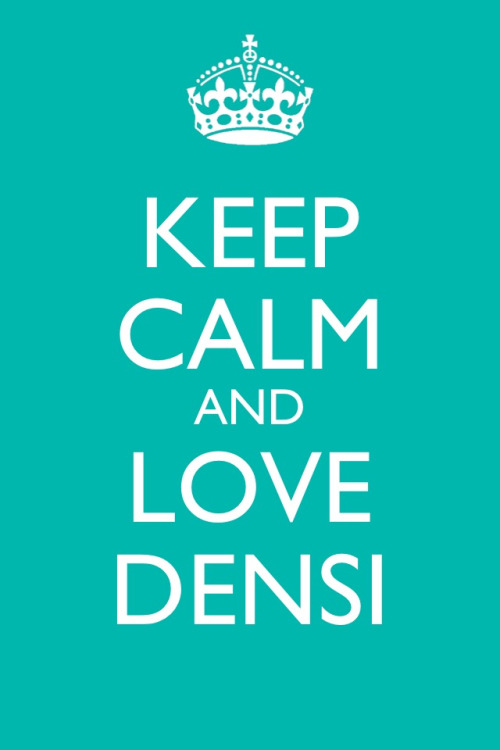 cristianamesquita:  Like? :)  I do!! Love densi!