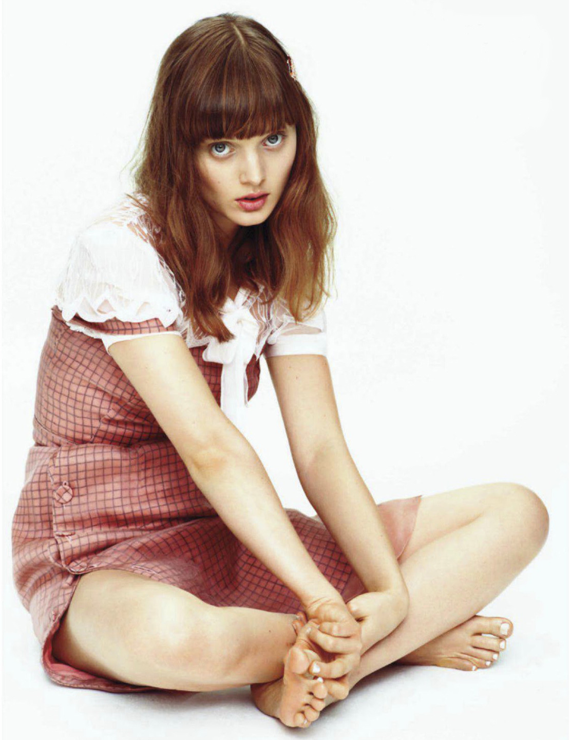 Bella Heathcote photographed by Alexei Hay for Elle, January 2013