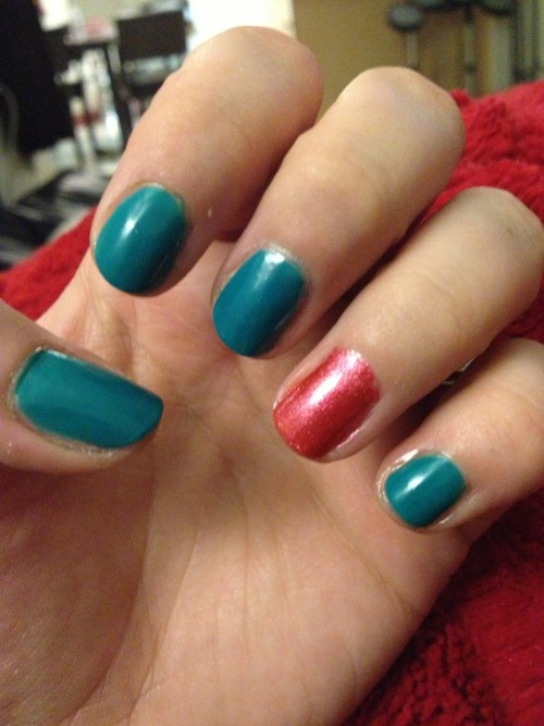 BAM! Colorful nails :)