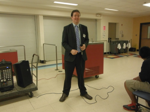 Evan Guthrie Law Firm Speaks To Students At Northwoods Middle School In North Charleston, SC About Life As A Lawyer And The Legal Profession. Attorney Guthrie Talked To Groups Of Students And Answered Questions About A Career In Law And How To Succeed In School And In Life On Tuesday March 5th 2013.