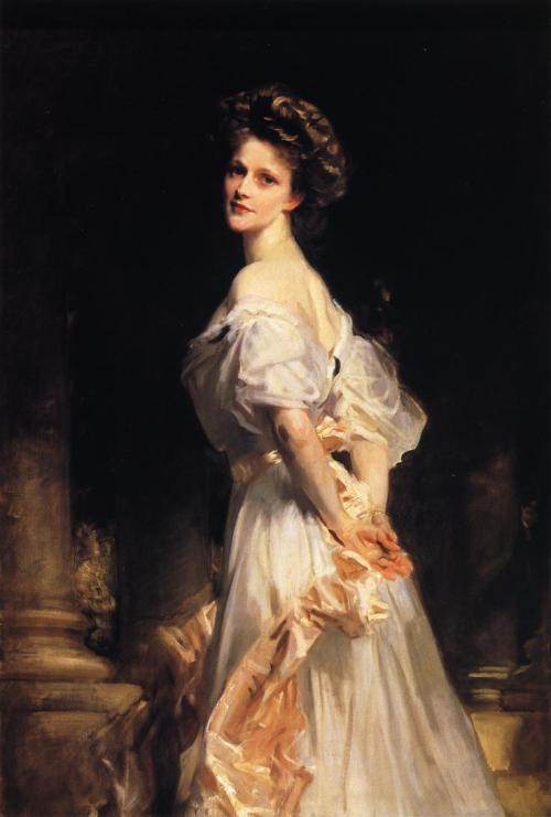 art-library:  John Singer Sargent, Nancy Astor, 1906.