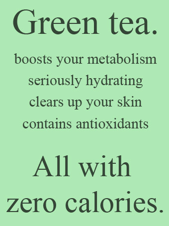 More reasons to love green tea! =D