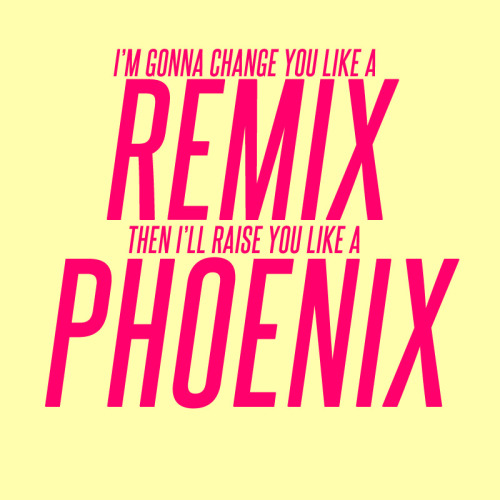 "justlyrics:  ""The Phoenix"" by Fall Out Boy"