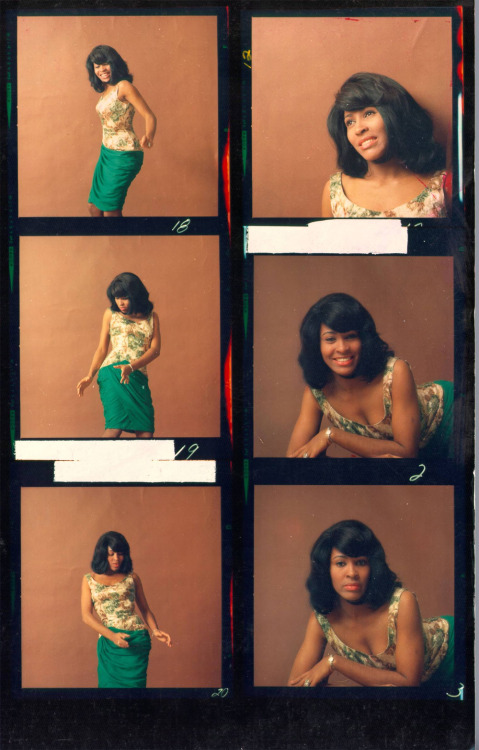 contact-sheets:  Tina Turner, 1964, by Michael Ochs.