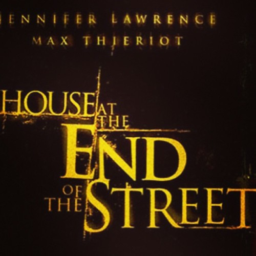 #NowWatching House at the end of the street #jenniferlawrence #movie #moviemarathon #horror #thriller