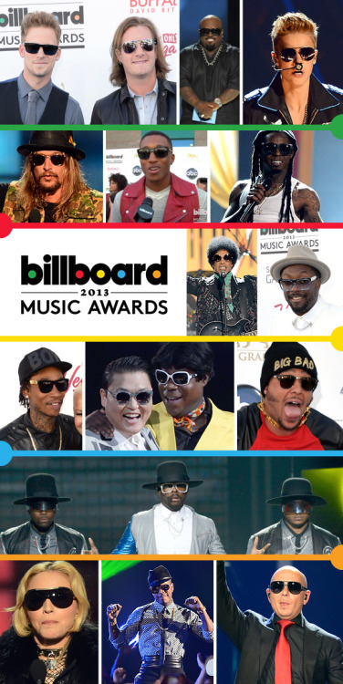 Billboard Music Awards Full of Eyewear Madness