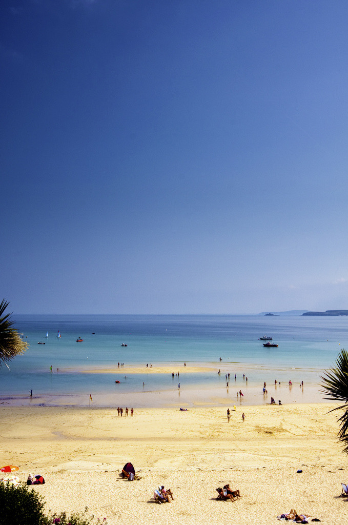 touchdisky:  Porthminster Beach, England by James C Farmer