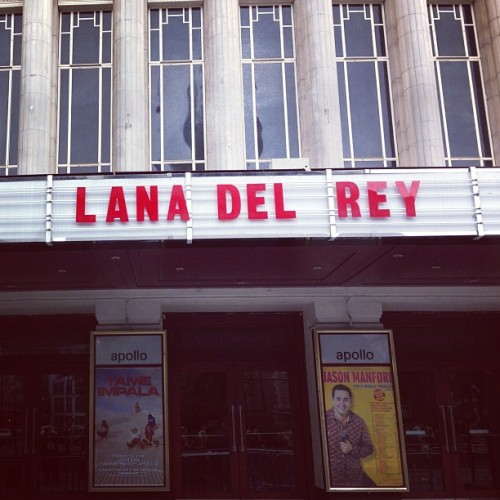 lanadelvogue:  at Hammersmith Apollo