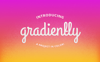 andrewstichbury:  Introducing Gradiently Inspired by Pretty Colors, Gradiently let's anyone create a gradient, give it a name, credit it then publish it directly to the blog. Because it's a tumblelog, you can like, reblog or share your gradient with others. Check it out for yourself! Gradiently isn't entirely finished, like most personal projects I start, they go live before they're complete.